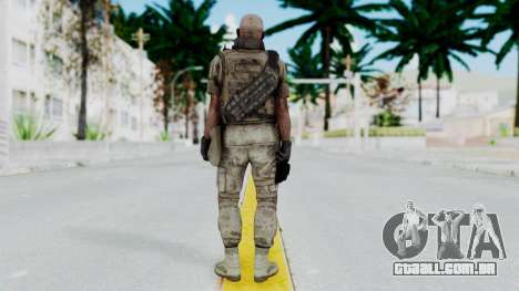 Crysis 2 US Soldier FaceB Bodygroup B para GTA San Andreas terceira tela