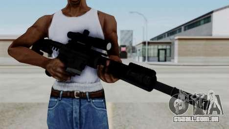 McMillan CS5 No Bipod para GTA San Andreas terceira tela