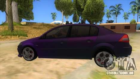 Renault MEGANE 2 para GTA San Andreas esquerda vista