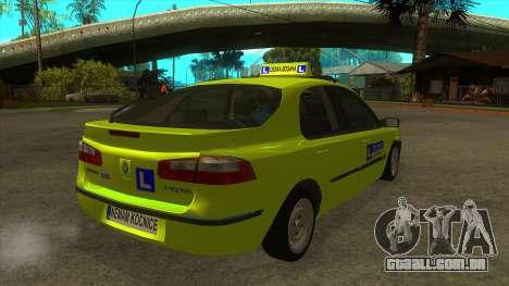 Renault Laguna Mk2 Superior Velocidade Do Auto Š para GTA San Andreas vista direita