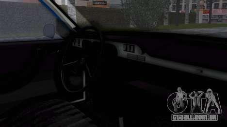 Dacia 1300 Police para GTA San Andreas vista direita