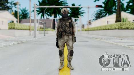 Crysis 2 US Soldier 7 Bodygroup B para GTA San Andreas segunda tela