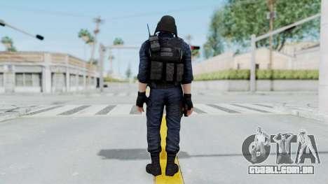 GIGN 2 No Mask from CSO2 para GTA San Andreas terceira tela