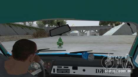 Dacia 1310 Rusty para GTA San Andreas vista interior