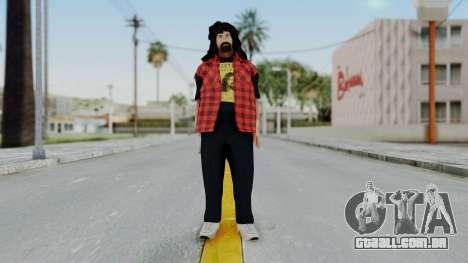 WWE Mick Foley para GTA San Andreas segunda tela