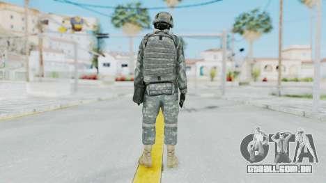Acu Soldier 1 para GTA San Andreas terceira tela