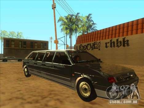 VAZ 2114 9-door para GTA San Andreas esquerda vista