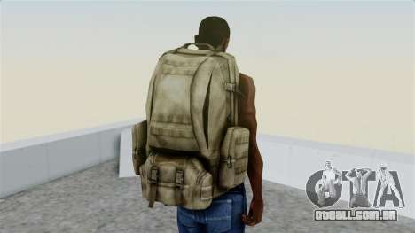 Arma 2 Coyote Backpack para GTA San Andreas terceira tela