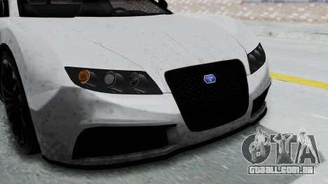 GTA 5 Truffade Adder v2 IVF para GTA San Andreas vista interior