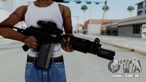 FN FAL DSA para GTA San Andreas terceira tela