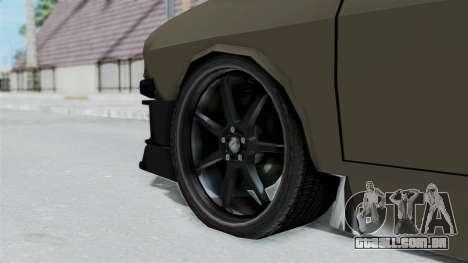 Dacia 1310 Tuned para GTA San Andreas traseira esquerda vista
