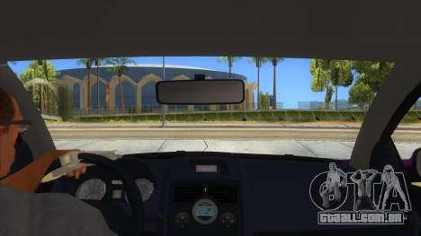 Renault MEGANE 2 para GTA San Andreas vista interior