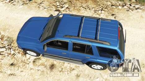 GTA 5 Chevrolet TrailBlazer voltar vista
