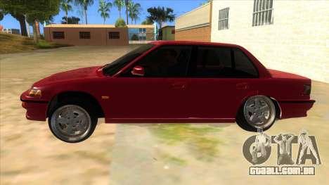 Honda Civic Ef Sedan para GTA San Andreas esquerda vista