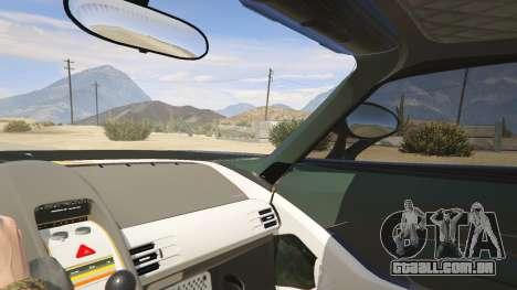 GTA 5 Porsche Carrera GT traseira direita vista lateral