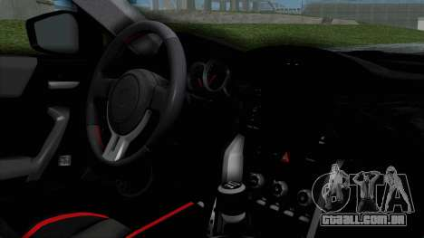 Toyota GT-86 Rocket Bunny para GTA San Andreas vista direita