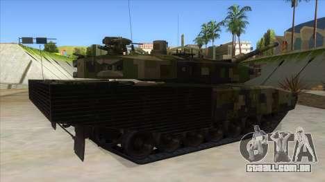 MBT52 Kuma para GTA San Andreas vista direita