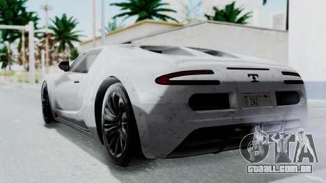 GTA 5 Truffade Adder v2 IVF para GTA San Andreas esquerda vista