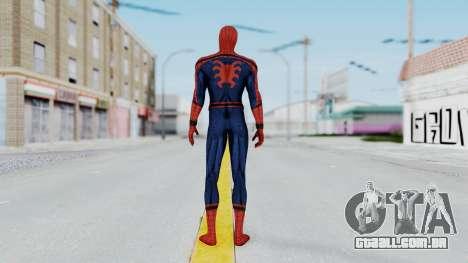 Civil War Spider-Man Alt para GTA San Andreas terceira tela