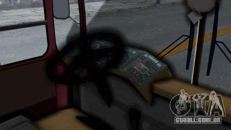 DAC 112 Udm para GTA San Andreas traseira esquerda vista