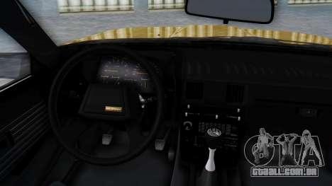 Toyota Celica Supra Mk2 para GTA San Andreas vista direita