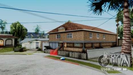 Nova textura em casa Se v2 (com interiores) para GTA San Andreas