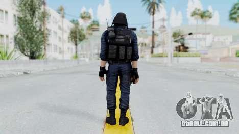 GIGN 2 Masked from CSO2 para GTA San Andreas terceira tela