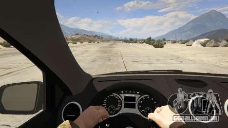 GTA 5 2009 Mercedes-Benz ML63 AMG FBI voltar vista