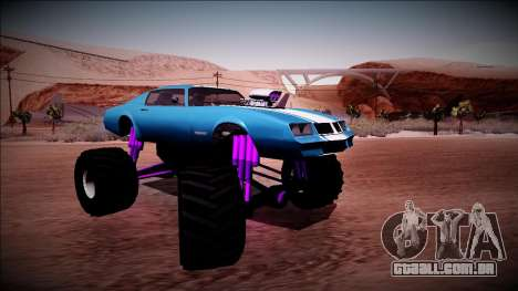 GTA 5 Imponte Phoenix Monster Truck para GTA San Andreas vista direita