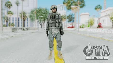 Acu Soldier 1 para GTA San Andreas segunda tela