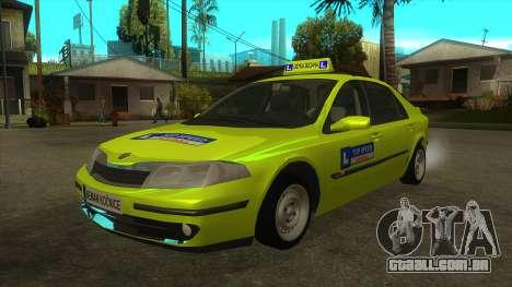 Renault Laguna Mk2 Superior Velocidade Do Auto Š para GTA San Andreas