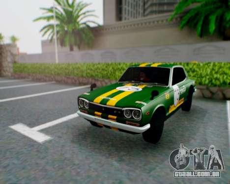 Nissan 2000GT-R [C10] Tunable para vista lateral GTA San Andreas