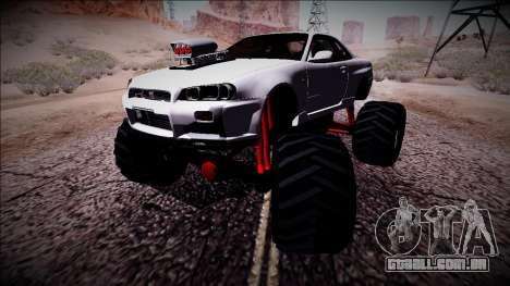 Nissan Skyline R34 Monster Truck para GTA San Andreas
