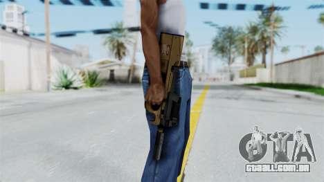 P90 Sand Frame para GTA San Andreas terceira tela