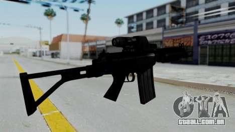 FN FAL DSA para GTA San Andreas segunda tela