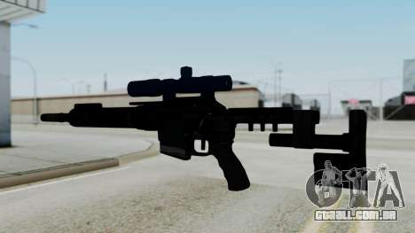 McMillan CS5 No Bipod para GTA San Andreas segunda tela