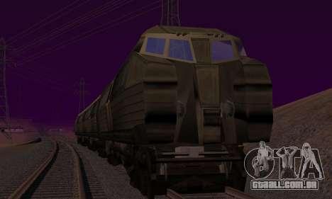 Batman Begins Monorail Train v1 para GTA San Andreas vista direita