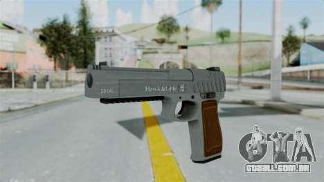 GTA 5 Pistol .50 para GTA San Andreas segunda tela