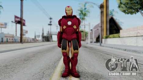 Ironman Skin para GTA San Andreas segunda tela
