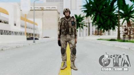 Crysis 2 US Soldier 4 Bodygroup A para GTA San Andreas segunda tela