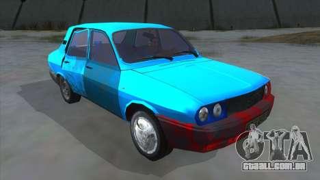 Dacia 1310 Rusty para GTA San Andreas vista traseira