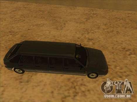 VAZ 2114 9-door para GTA San Andreas traseira esquerda vista