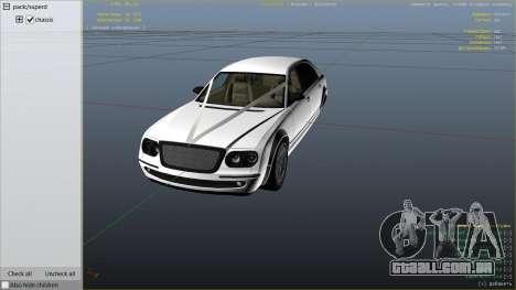 GTA 5 GTA 4 Enus Cognoscenti vista lateral direita