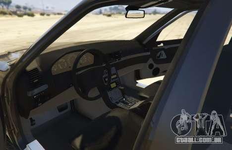 GTA 5 Mercedes-Benz S600 (W140) [Replace] v1.1 voltar vista
