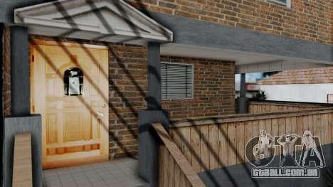 Nova textura em casa Se v2 (com interiores) para GTA San Andreas terceira tela