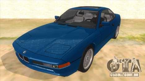 BMW 850i E31 para GTA San Andreas