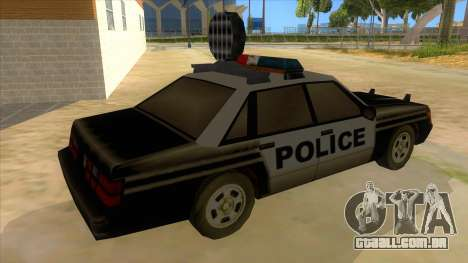 Police Car from Manhunt 2 para GTA San Andreas vista direita