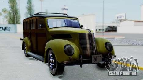 Ford V-8 De Luxe Station Wagon 1937 Mafia2 v1 para GTA San Andreas