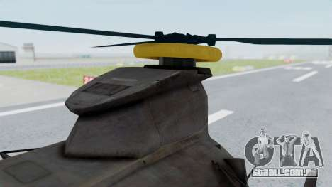 MH-47 Umbrella U.S.S para GTA San Andreas vista direita