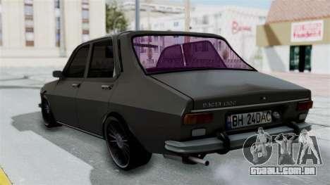 Dacia 1300 Edition[RC] para GTA San Andreas esquerda vista